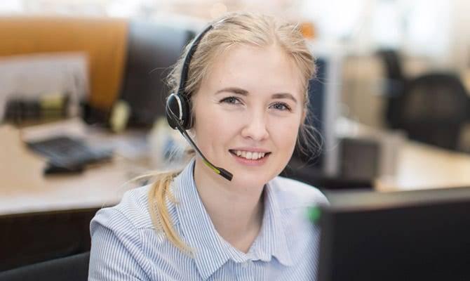 Telefonpasning med god service