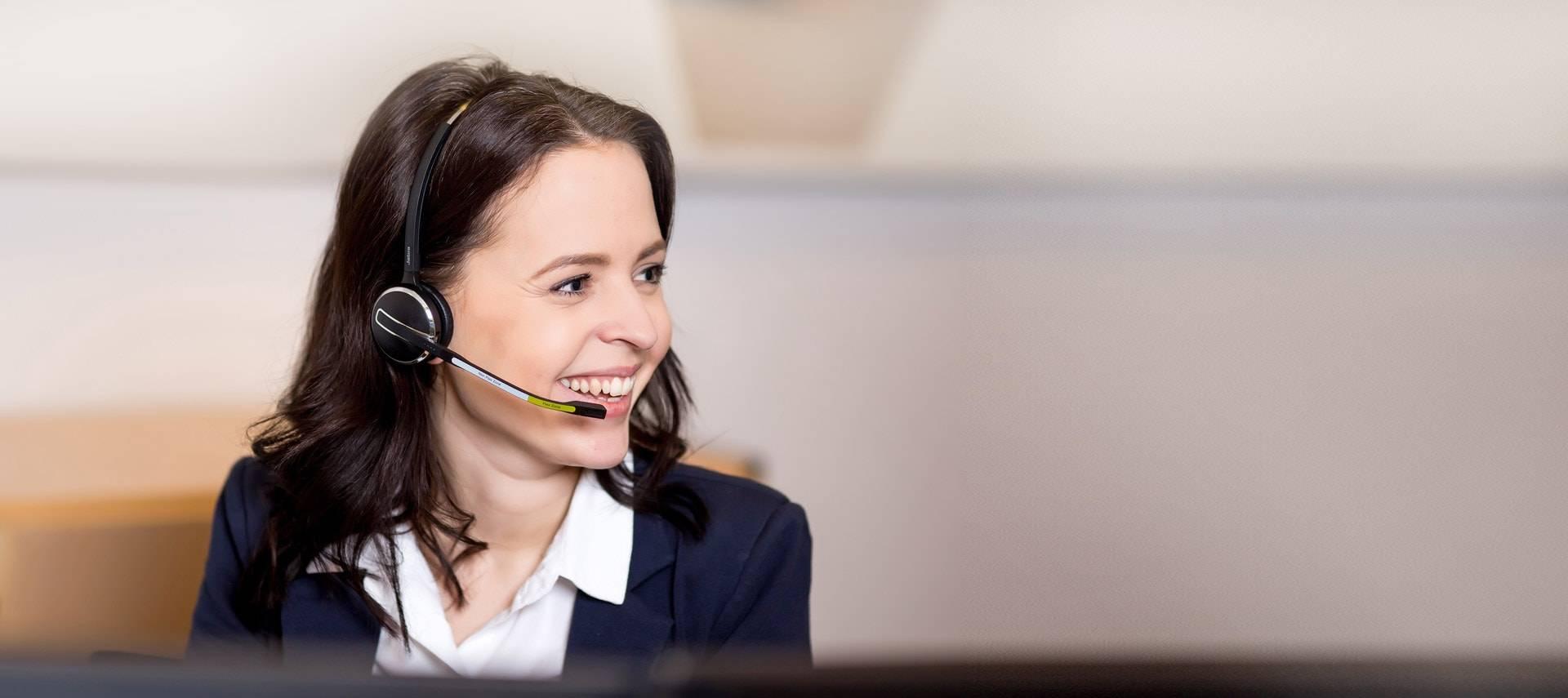 Om-topcall receptionist Maiken